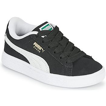 Zapatos Niños Zapatillas bajas Puma SUEDE PS Negro