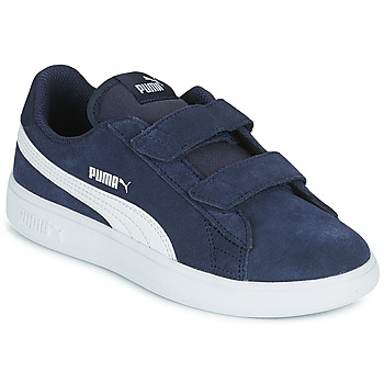 Zapatos Niños Zapatillas bajas Puma SMASH PS Azul