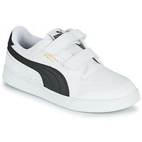 Zapatos Niños Zapatillas bajas Puma SHUFFLE PS Blanco / Negro