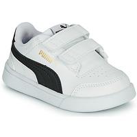 Zapatos Niños Zapatillas bajas Puma SHUFFLE INF Blanco / Negro