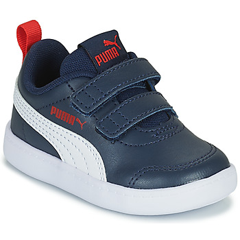 Zapatos Niños Zapatillas bajas Puma COURTFLEX INF Negro