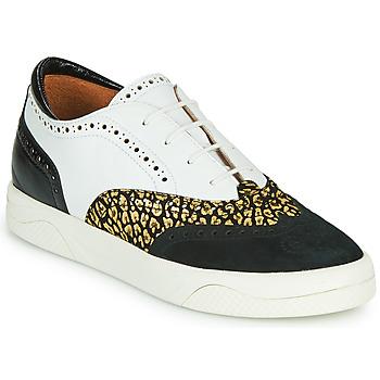 Zapatos Mujer Zapatillas bajas Mam'Zelle ALIBI Blanco / Oro