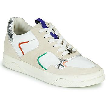 Zapatos Mujer Zapatillas bajas Mam'Zelle ARTIX Blanco / Multicolor
