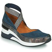 Zapatos Mujer Zapatillas bajas Mam'Zelle VOLOU Azul / Plata