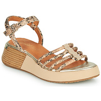Zapatos Mujer Sandalias Mam'Zelle CALVA Beige