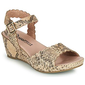 Zapatos Mujer Sandalias Mam'Zelle DOUGA Beige