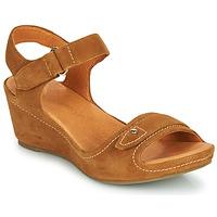 Zapatos Mujer Sandalias Mam'Zelle DARDA Cognac