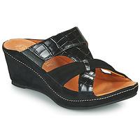 Zapatos Mujer Zuecos (Mules) Mam'Zelle DINAMO Negro