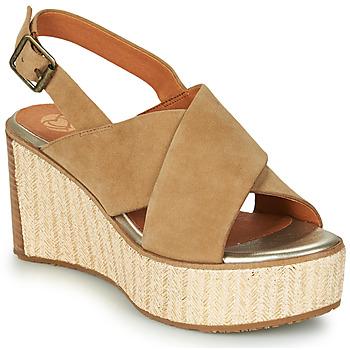 Zapatos Mujer Sandalias Mam'Zelle MEDINA Beige