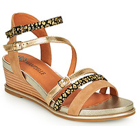 Zapatos Mujer Sandalias Mam'Zelle NAGA Beige / Naranja