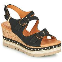 Zapatos Mujer Sandalias Mam'Zelle PAPOTE Negro