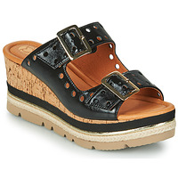 Zapatos Mujer Zuecos (Mules) Mam'Zelle PULSE Negro