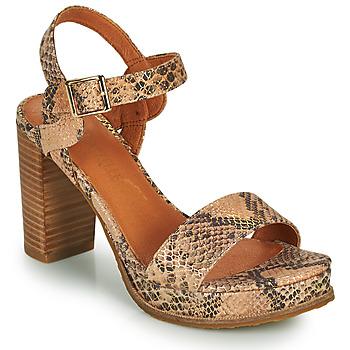 Zapatos Mujer Sandalias Mam'Zelle JAIN Beige