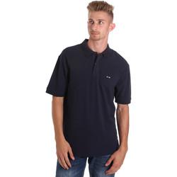 textil Hombre Polos manga corta Les Copains 9U9015 Azul