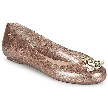 Zapatos Mujer Bailarinas-manoletinas Melissa VIVIENNE WESTWOOD ANGLOMANIA - SWEET LOVE II Rosa