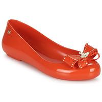 Zapatos Mujer Bailarinas-manoletinas Melissa VIVIENNE WESTWOOD ANGLOMANIA - SWEET LOVE II Rojo