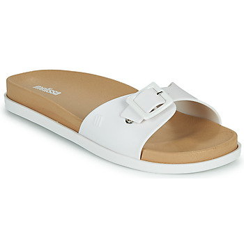Zapatos Mujer Zuecos (Mules) Melissa WIDE SLIDE AD Blanco