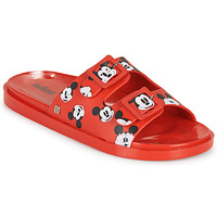 Zapatos Mujer Zuecos (Mules) Melissa WIDE - MICKEY & FRIENDS AD Rojo