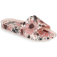 Zapatos Mujer Zuecos (Mules) Melissa BEACH SLIDE PRINT AD Rosa
