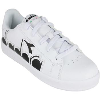 Zapatos Niños Zapatillas bajas Diadora game p bolder gs c0351 Negro