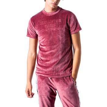 textil Hombre Camisetas manga corta Exclusive Paris 212 EX -TS Rosso