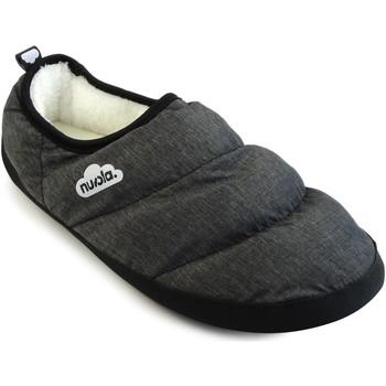 Zapatos Pantuflas Nuvola. Zapatilla de estar por casa NUVOLA®,Marbled Chill. Black
