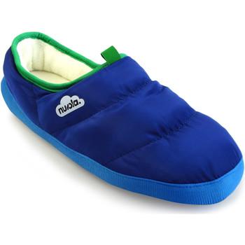 Zapatos Pantuflas Nuvola. Zapatilla de estar por casa NUVOLA®,Classic Party. Blue Moon