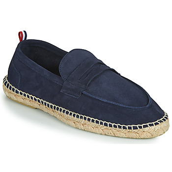 Zapatos Hombre Alpargatas 1789 Cala MARINA LEATHER Azul