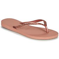 Zapatos Mujer Chanclas Havaianas SLIM GLITTER II Rosa