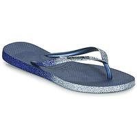 Zapatos Mujer Chanclas Havaianas SLIM SPARKLE II Marino