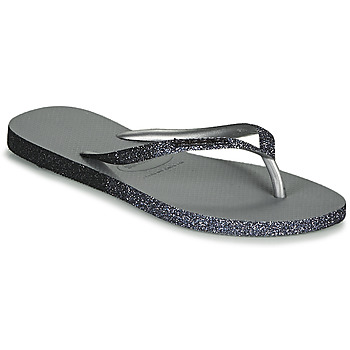 Zapatos Mujer Chanclas Havaianas SLIM SPARKLE II Gris