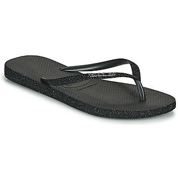 Zapatos Mujer Chanclas Havaianas SLIM SPARKLE II Negro