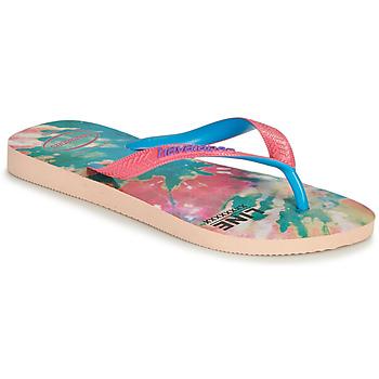 Zapatos Mujer Chanclas Havaianas TOP FASHION Rosa