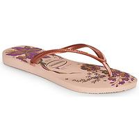 Zapatos Mujer Chanclas Havaianas SLIM ORGANIC Rosa