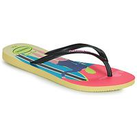 Zapatos Mujer Chanclas Havaianas SLIM STYLE MIX Amarillo