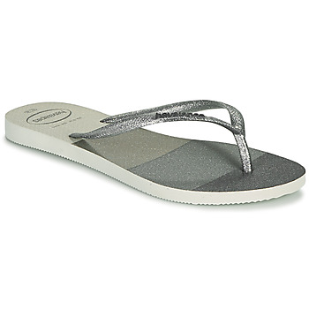 Zapatos Mujer Chanclas Havaianas SLIM PALETTE GLOW Blanco