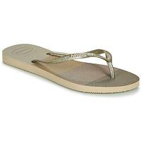 Zapatos Mujer Chanclas Havaianas SLIM PALETTE GLOW Beige