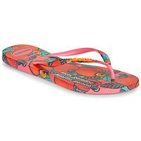 Zapatos Mujer Chanclas Havaianas SLIM SUMMER Rosa / Rojo