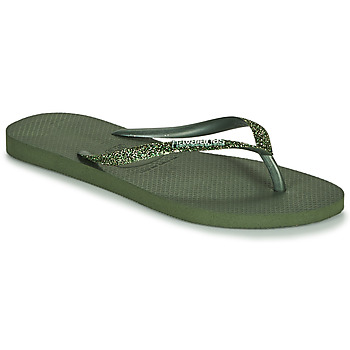 Zapatos Mujer Chanclas Havaianas SLIM GLITTER II Verde