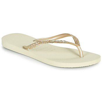 Zapatos Mujer Chanclas Havaianas SLIM GLITTER II Beige