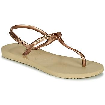 Zapatos Mujer Sandalias Havaianas TWIST Beige