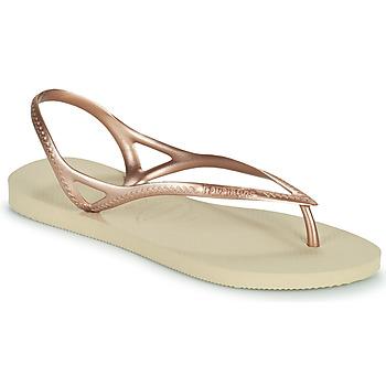 Zapatos Mujer Sandalias Havaianas SUNNY II Beige