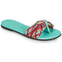 Zapatos Mujer Chanclas Havaianas YOU ST TROPEZ MESH Azul