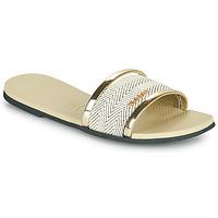 Zapatos Mujer Zuecos (Mules) Havaianas YOU TRANCOSO PREMIUM Beige