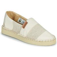 Zapatos Mujer Alpargatas Havaianas ESPADRILLE CLASSIC FLATFORM ECO Beige