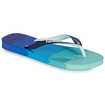 Zapatos Chanclas Havaianas TOP LOGOMANIA MULTICOLOR Marino