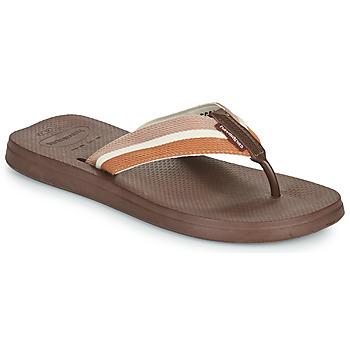 Zapatos Hombre Chanclas Havaianas NEW URBAN WAY Negro / Marrón