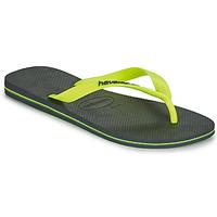 Zapatos Hombre Chanclas Havaianas BRASIL LOGO Gris