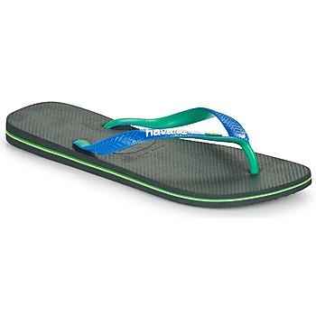 Zapatos Chanclas Havaianas BRASIL MIX Negro / Azul