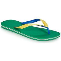 Zapatos Hombre Chanclas Havaianas BRASIL MIX Verde